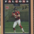2008 Topps Chrome Rookie Matt Ryan RC Falcons