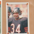 1987 Topps Mini Stickers Walter Payton Bears