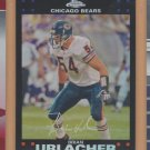 2007 Topps Chrome Refractor Brian Urlacher Bears