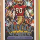 1999 Topps Record Numbers Silver Jerry Rice 49ers