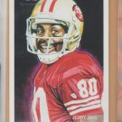 2009 Topps National Chicle Jerry Rice 49ers