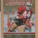 2012 Playoff Contenders Legendary Contenders Tom Rathman 49ers