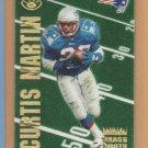 1996 Leaf Grass Roots Curtis Martin Patriots /5000