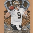 2011 Crown Royale Die Cut Drew Brees Saints
