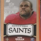 2011 Topps Rookie Rising Rookie Mark Ingram Saints RC