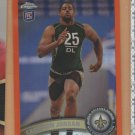 2011 Topps Chrome Orange Refractor Rookie Cameron Jordan Saints RC