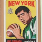 1996 Topps Joe Namath Reprints 1965 Rookie Reprint Jets