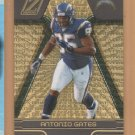 2005 Zenith Artist's Proof Gold Antonio Gates Chargers /50