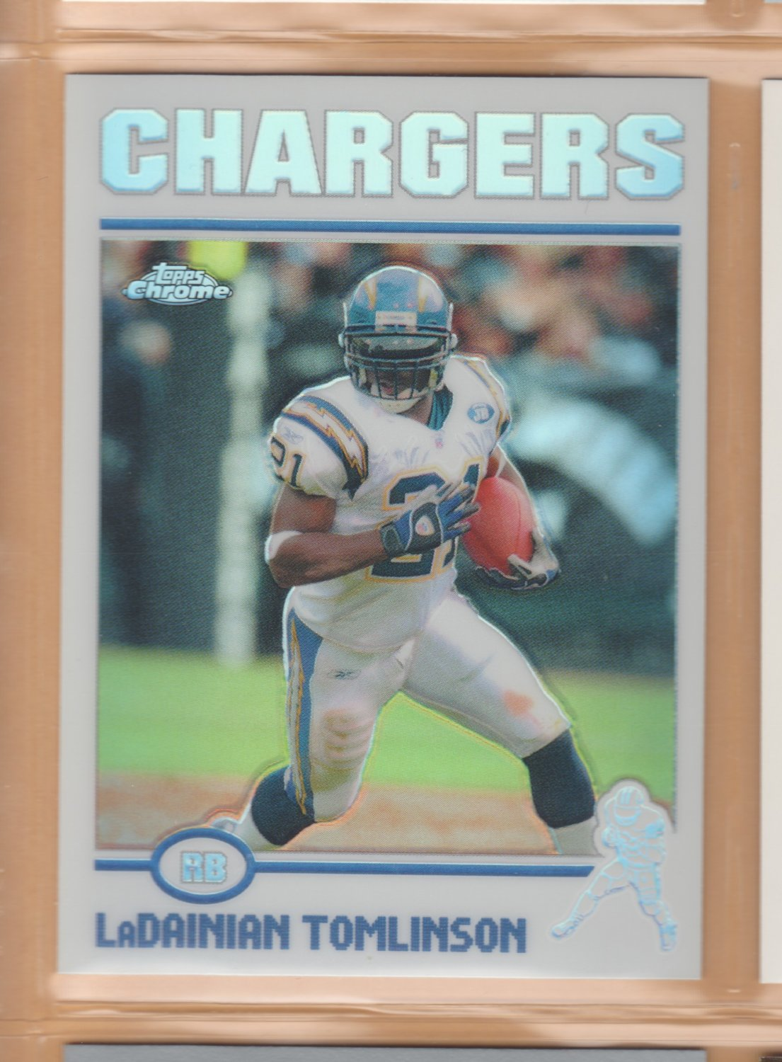 2004 Topps Chrome Refractor LaDainian Tomlinson Chargers