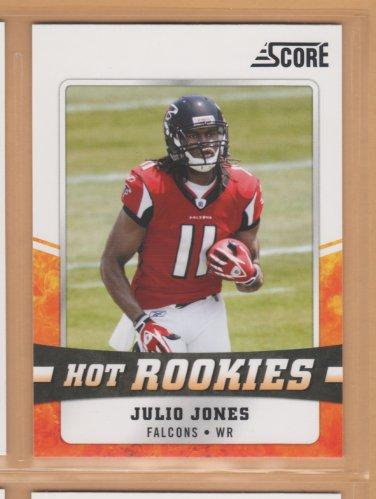 2011 Score Hot  Rookies Julio Jones RC Falcons
