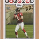 2008 Topps Rookie Matt Ryan RC Falcons