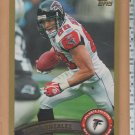 2011 Topps Gold Tony Gonzalez Falcons 0004/2011