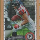 2011 Topps Chrome Xfractor Tony Gonzalez Falcons