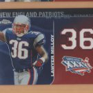 2008 Topps Chrome NFL Dynasties Lawyer Milloy Patriots