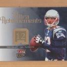 2006 Fleer Ultra Achievements Tom Brady Patriots