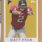 2008 Topps Turn Back the Clock Rookie Matt Ryan RC Falcons