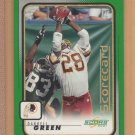 2001 Score Scorecard Darrell Green Redskins 7/281