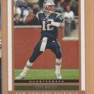 2003 Topps Draft Picks & Prospects Tom Brady Patriots