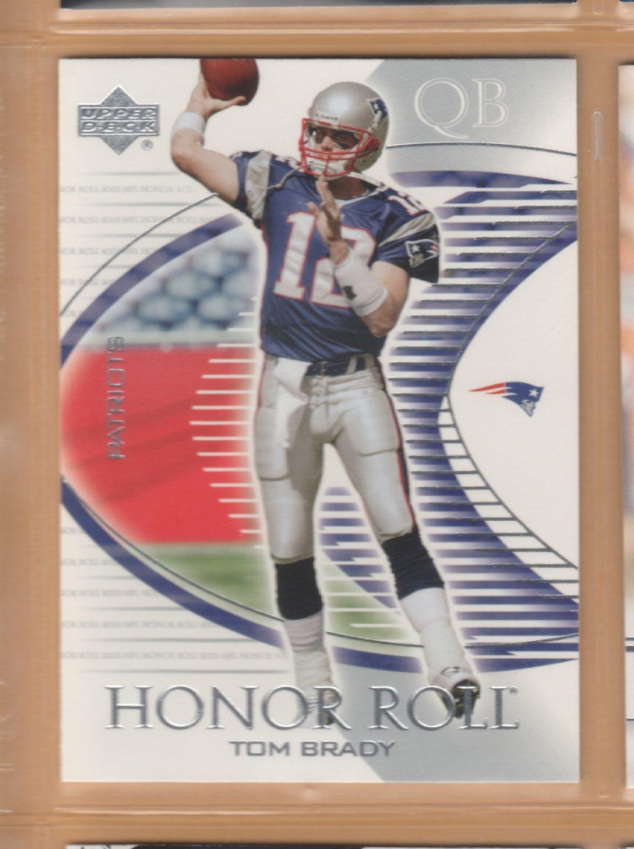 2003 Upper Deck UD Honor Roll Tom Brady Patriots