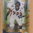 2007 Score Select Gold Zone Elvis Dumervil Broncos Ravens /50