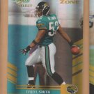 2007 Score Select Gold Zone Daryl Smith Jaguars /50