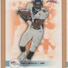 2003 Fleer Focus Numbers Century Red Rod Smith Broncos /100