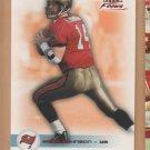 2003 Fleer Focus Numbers Century Red Brad Johnson Buccaneers   /100