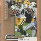 2005 UD Foundations Exclusive Gold Javon Walker Packers /99