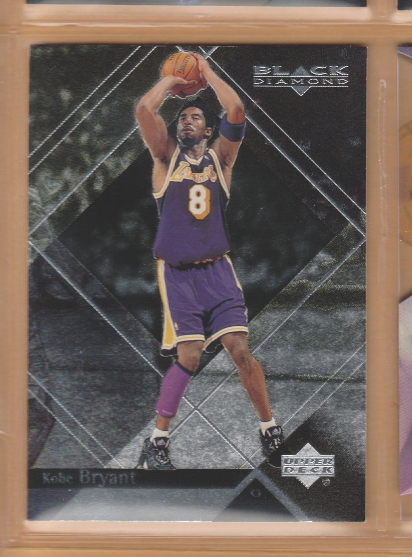 1999-00 UD Black Diamond Kobe Bryant Lakers