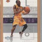 2002-03 UD Glass Kobe Bryant Lakers