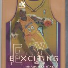 1999-00 Skybox E-X EXciting Die Cut Shaqulle O'Neal Lakers
