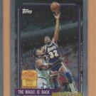 2000-01 Topps Chrome Reprints Magic Johnson #6 Lakers
