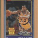 2000-01 Topps Chrome Cards That Never Were Magic Johnson #MJ9 Lakers