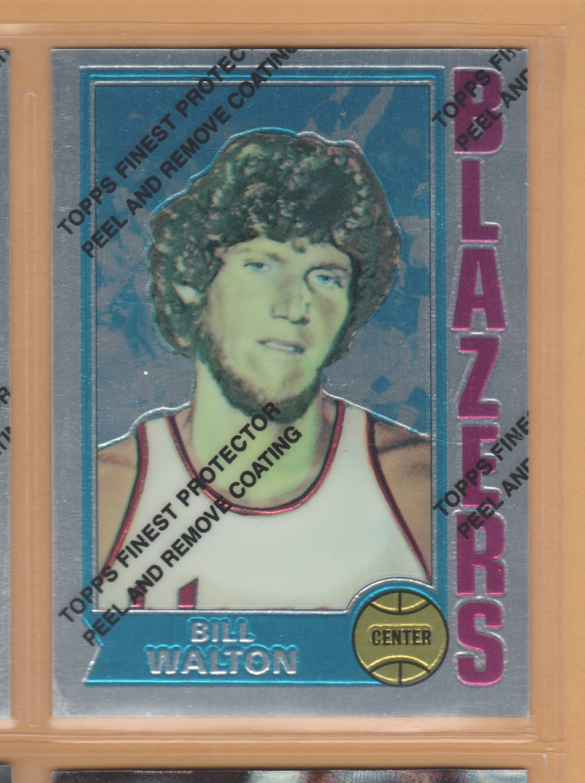 1996-97 Topps Finest Reprints Bill Walton Blazers