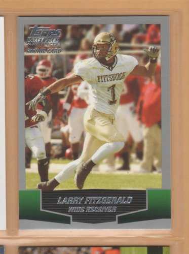 2004 Topps Draft Picks & Prospects Rookie Larry Fitzgerald Cardinals RC
