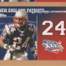 2008 Topps NFL Dynasties Ty Law Patriots
