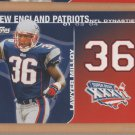 2008 Topps NFL Dynasties Lawyer Milloy Patriots