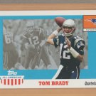 2003 Topps All American Tom Brady Patriots