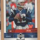 2005 UD Kickoff Tom Brady Patriots
