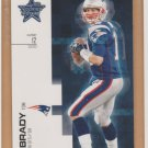 2007 Leaf Rookie & Stars Tom Brady Patriots