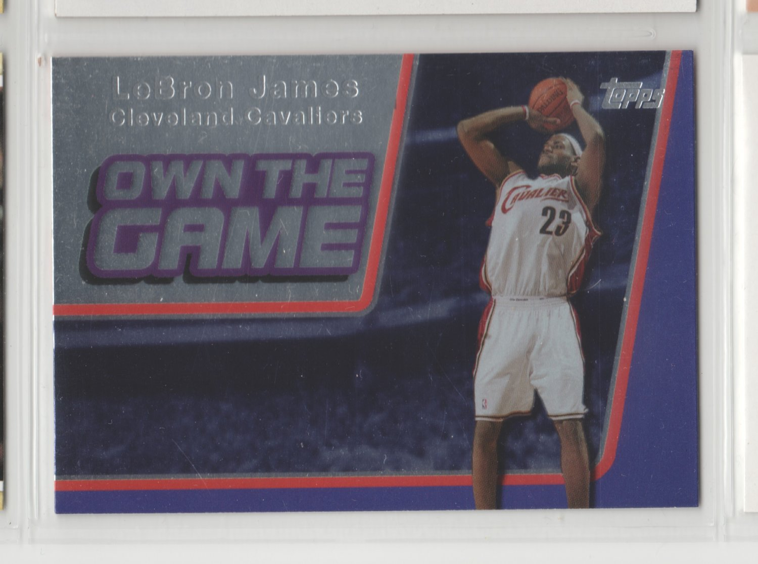 2006-07 Topps Own the Game LeBron James Cavaliers