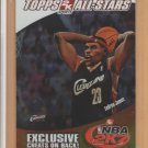 2006-07 Topps NBA 2K7 Promotion LeBron James Cavaliers