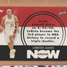 2007-08 Topps Generation Now LeBron James Cavaliers