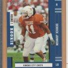 2005 Playoff Prestige Rookie Derrick Johnson Chiefs RC