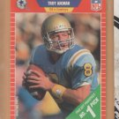 1989 Pro Set Rookie Troy Aikman RC Cowboys