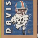 1997 Fleer Goudey Heads Up Terrell Davis Broncos