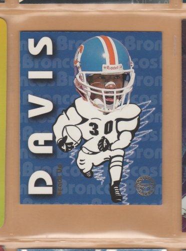 1997 Fleer Goudey Heads Up Terrell Davis Broncos