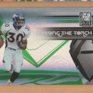 2007 Elite Passing the Torch Green Terrell Davis Broncos /400