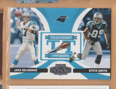 2005 Playoff Honors Touchdown Tandems Jake Delhomme Steve Smith Panthers
