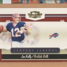 2007 Donruss Threads Century Legends Jim Kelly Bills